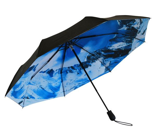 'Off-Piste' Folding Umbrella | Where I'd Rather Be | http://www.whereidratherbe.co.uk/products/off-piste-folding-umbrella