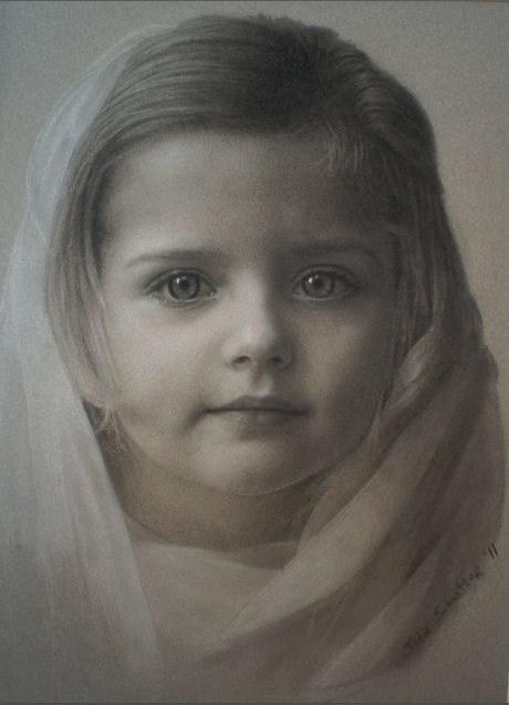 Stunning Pastels of Children by Javad Soleimanpour