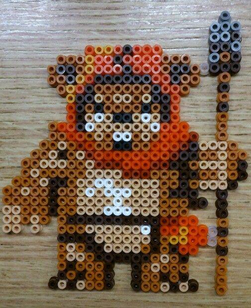 Ewok star wars hama perler beads