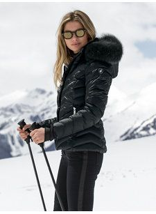 TONI SAILER Women Designer Ski Wear | Emily Black Jacket