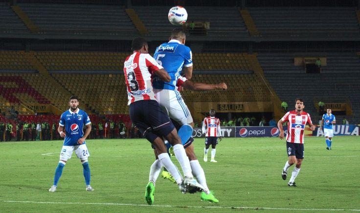 En fotos, el empate entre Millonarios y Junior por Copa Águila