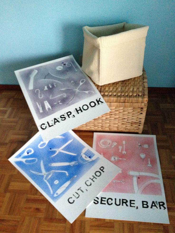plakáty zásuvkového designu - drawer design posters