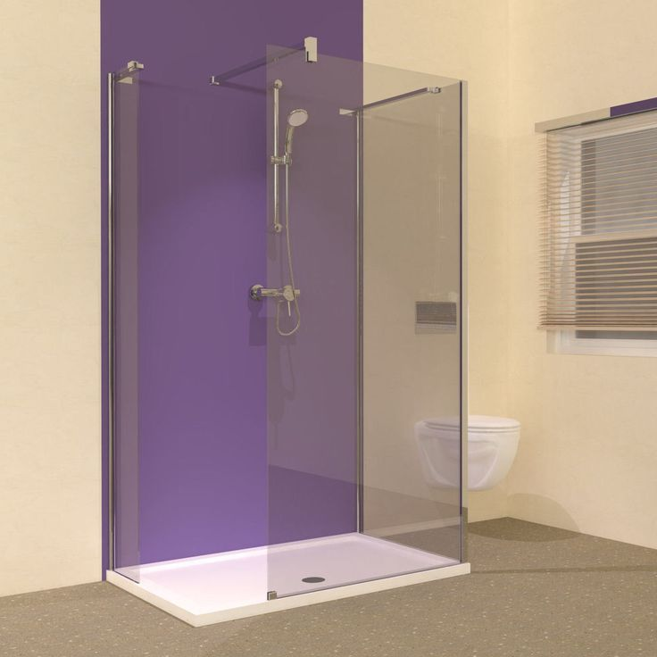 Line 1200 X 800 Compact Walk In Shower Enclosure And Tray