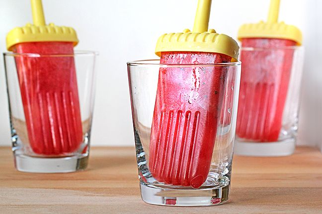 Watermelon Mint Popsicles (raw, vegan)