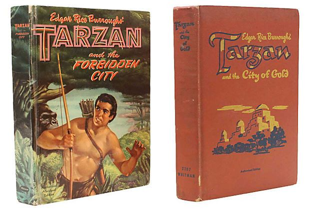 Tarzan Books, Pair on OneKingsLane.com