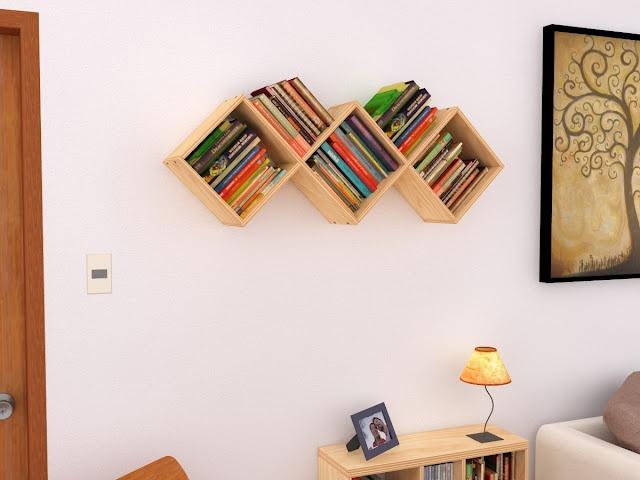 """Maderística: Libreros """"Ico""""  http://maderistica.blogspot.com/2012/04/librero-ico.html#"""