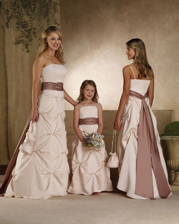bridesmaid dress as a wedding dress? Different colour of course though