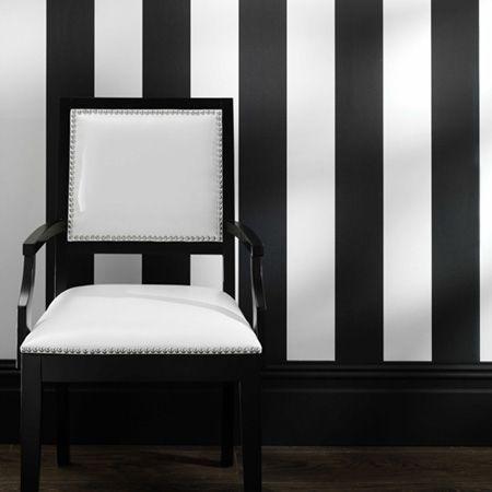 Wallpaper for my bathroom, Black & White.