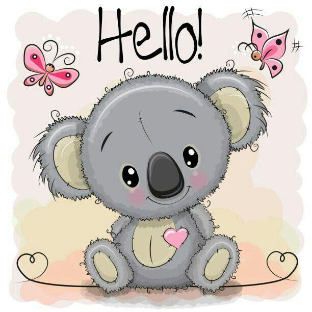 Pin By Maricruz On Cute Cartoon Animals Koala Drawing Cute Cartoon Cute Drawings