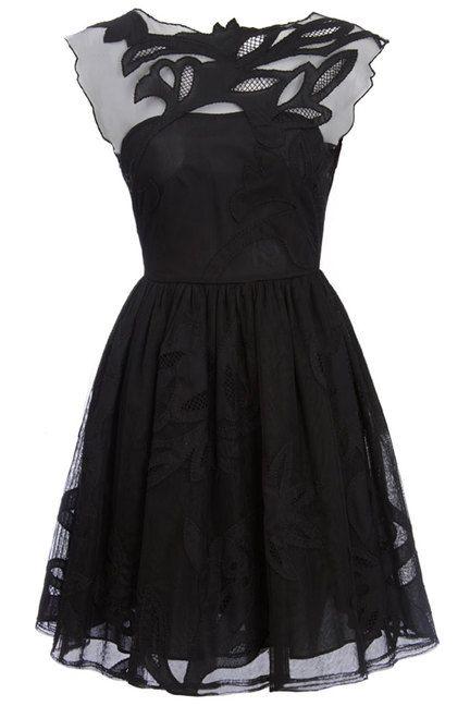 Beauty is a little black dress