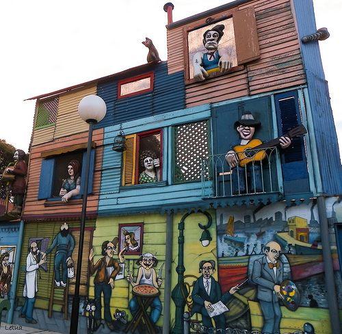 Mural de La Boca