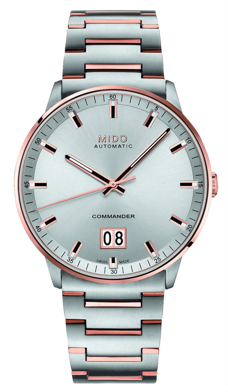 "The Mido Commander Big Date is the brand's latest release and celebrates their upcoming #100th #anniversary, which is a rather clever name for a commemorative piece (the centenary is surely a ""big date"" for Mido, after all)."