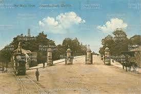 Main gate Pheonix park 1895