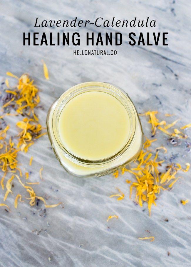 Calendula & Lavender a healing hand salve