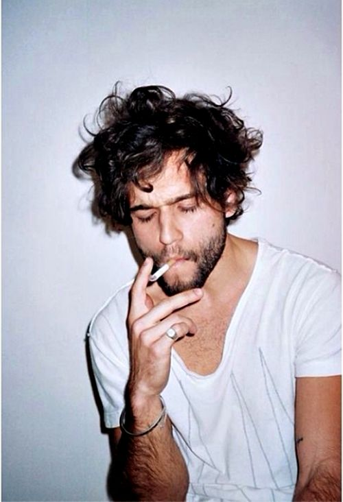 Hair beard smoke tumblr Style hair men