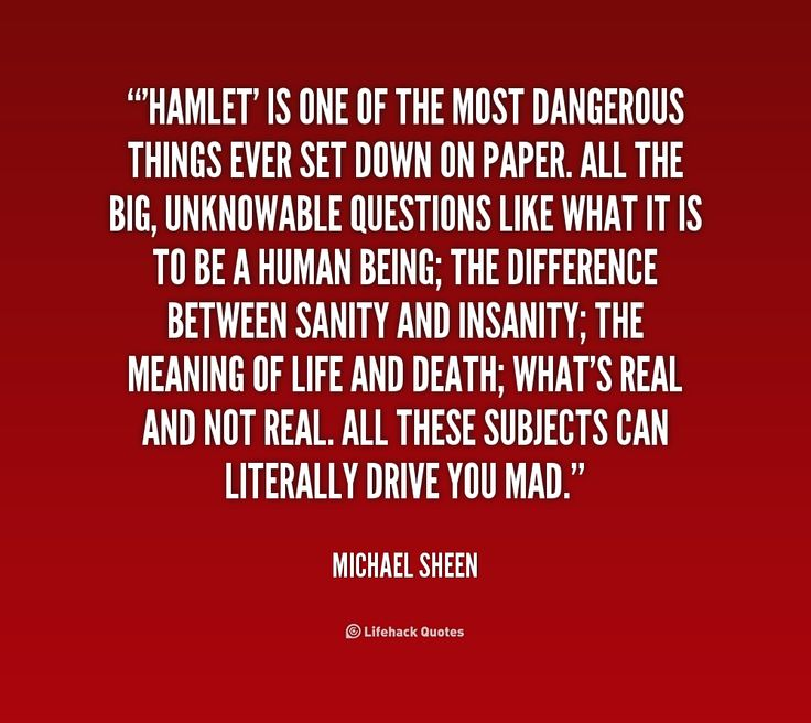 Hamlet Depression Quotes: Shakespeare Quotes About Insanity. QuotesGram
