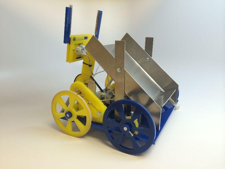 MAE 3 Robot Contest - By Man-Yeung Tsay