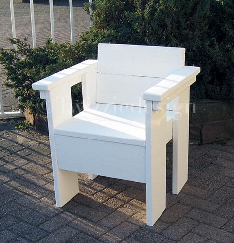 Twizziedesign steigerhout stoel