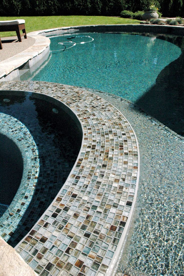 47 best images about lunada bay tile on pinterest pewter for Pool design mosaic tiles
