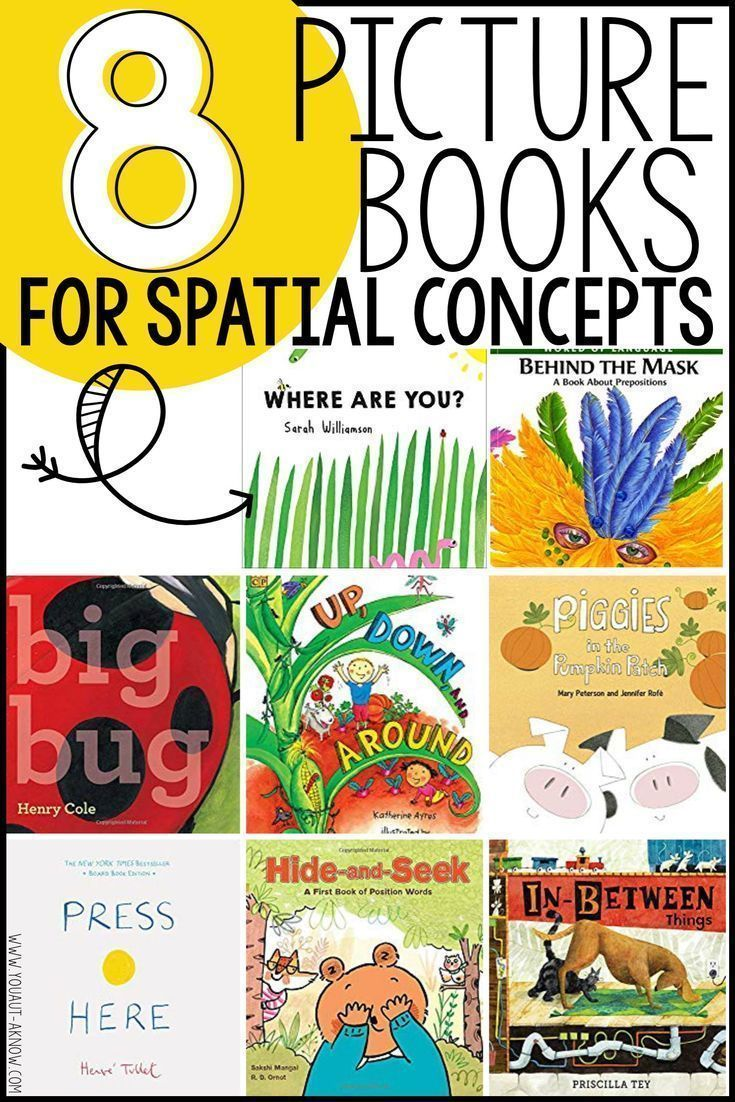 8 Picture Books For Teaching Spatial Concepts You Aut A Know Spatial Concepts Speech Therapy Activities Elementary Picture Book [ 1102 x 735 Pixel ]