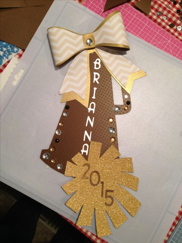 best 25 cheerleading crafts ideas on pinterest