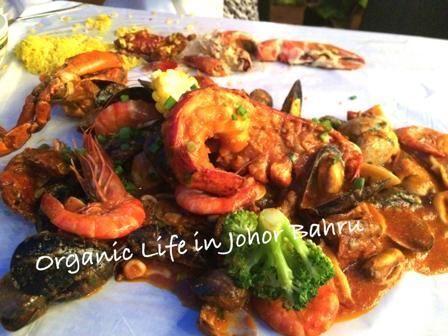 ワイルドに手づかみでシーフード!「The Catch Restaurant」@ジョホールバル|マレーシア・ジョホールバルでオーガニックな子育て&移住生活