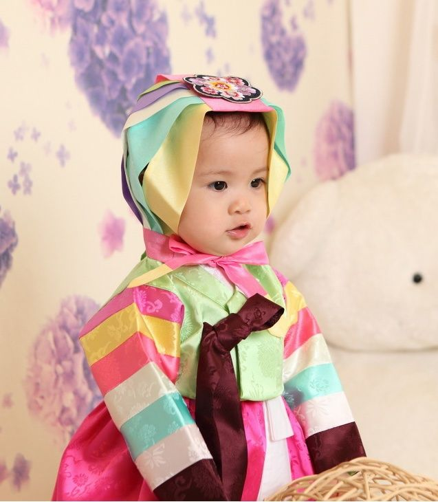 HANBOK - korean clothes,traditional dress,first birthday hanbok for girl hanbok, boy hanbok