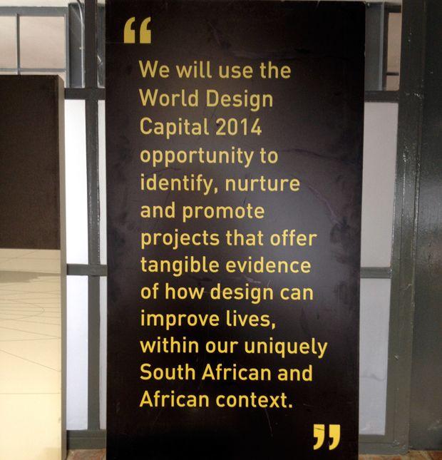 World Design Capital 2014 Office - #lovecapetown