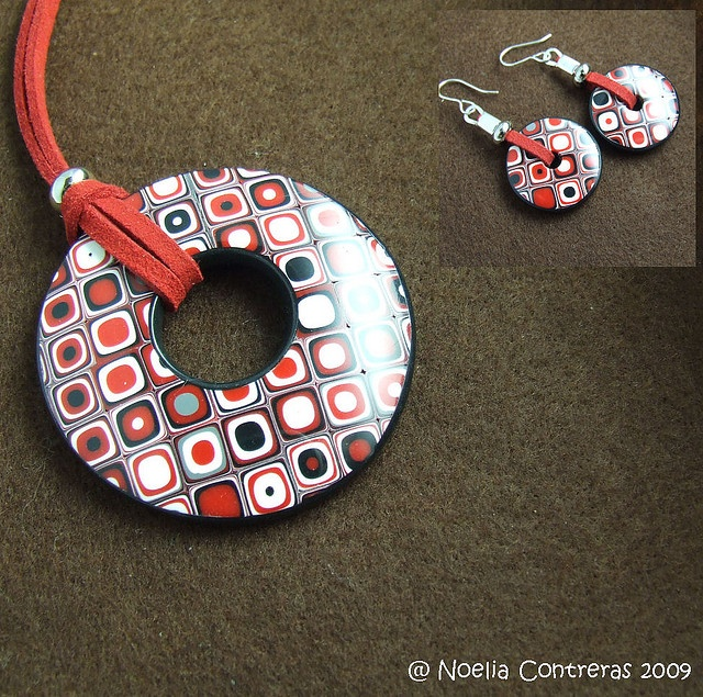 super necklace from Noelia Contreras  -- great set :)