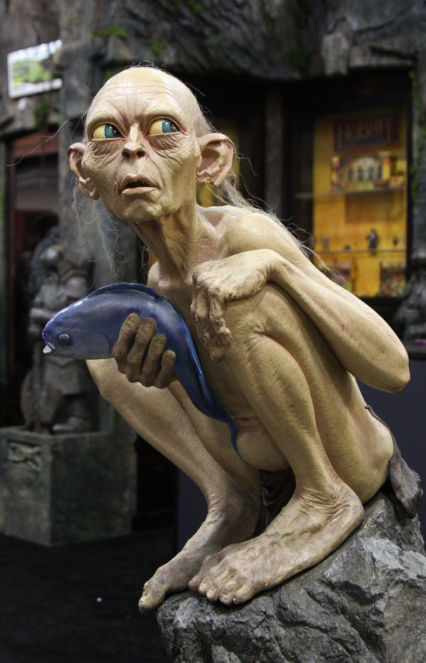 25 best images about gollum costume on pinterest my ex dragon con and lotr - Hobbit book ends ...