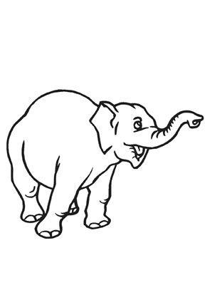 ausmalbild elefant zum ausmalen. #ausmalbilder | #