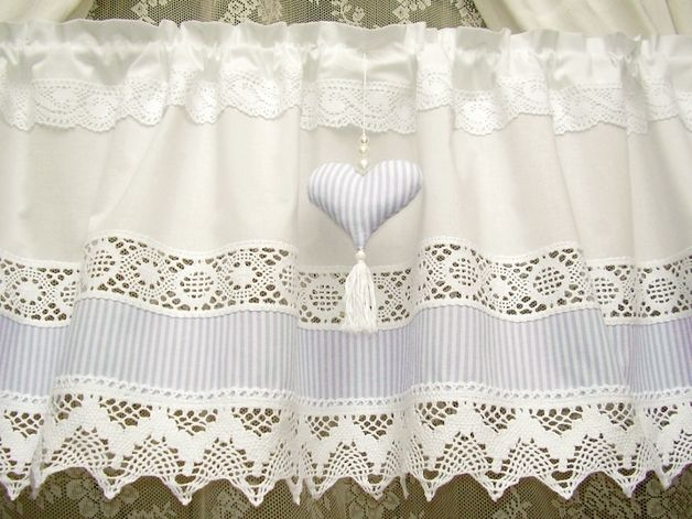 50 best IDEAS CASA images on Pinterest Shabby chic curtains