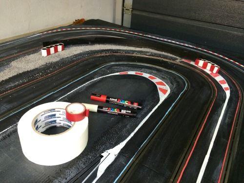 Slot car brushes