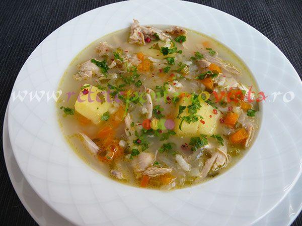 Cea mai gustoasa #reteta de supa de pui! Delicioasa si usor de facut, aceasta reteta de supa de pui va deveni cu siguranta preferata ta!