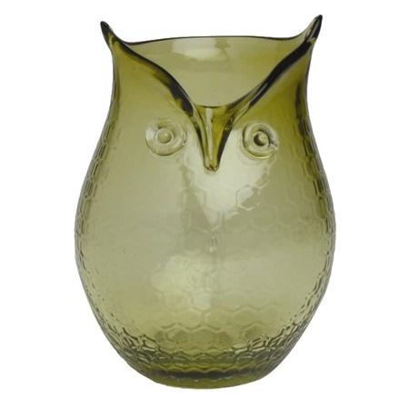 for joni: Decor, Idea, Owl Hurricane, Glasses, Green, Candle Holders, Owls