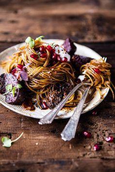 Diese Balsamico-Pasta müsst ihr probieren! Wie einfach ihr sie nachkochen könnt, erfahrt ihr jetzt auf ELLE.de!