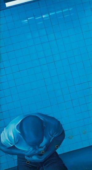 Meurtre N°VI - 1968 -  de Monory Jacques - Huile sur toile - © Sotheby's - ADAGP - Art Digital Studio
