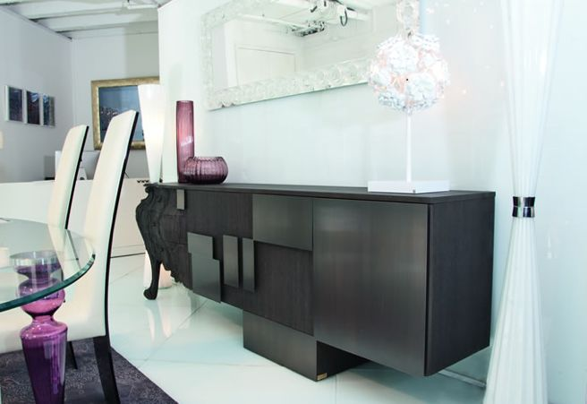 EVOLUTION Sideboard  -  design Ferruccio Laviani  -  www.emmemobili.it  -  pinned from Francesca Tosolini
