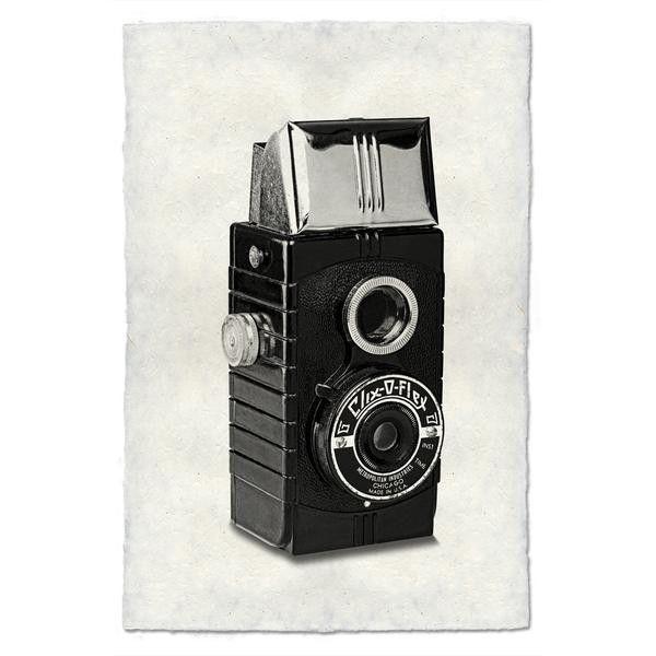 """Vintage Camera Print """"Clix O Flex"""" #Cameras #vintagecameras #CameraGear"""