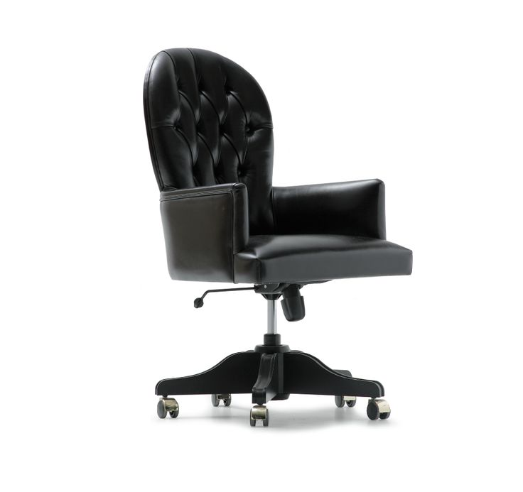 Georges Swivel Desk Chair made in Italy by Opera Contemporary. Available exclusively at Sarsfield Brooke Ltd.
