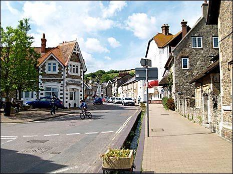High Street, Beer, Devon, UK