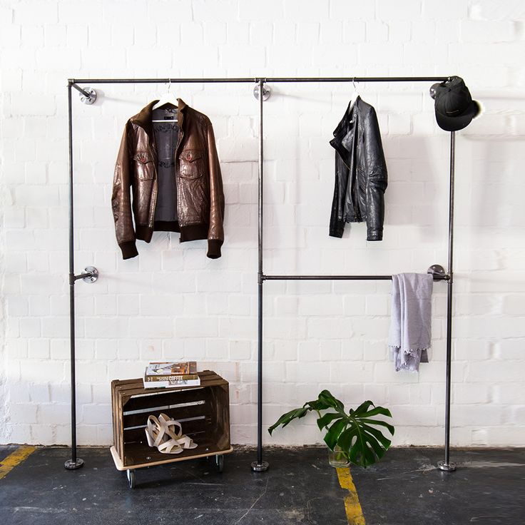 33 best open wardrobes offene kleiderschr nke images on pinterest cast iron open wardrobe. Black Bedroom Furniture Sets. Home Design Ideas
