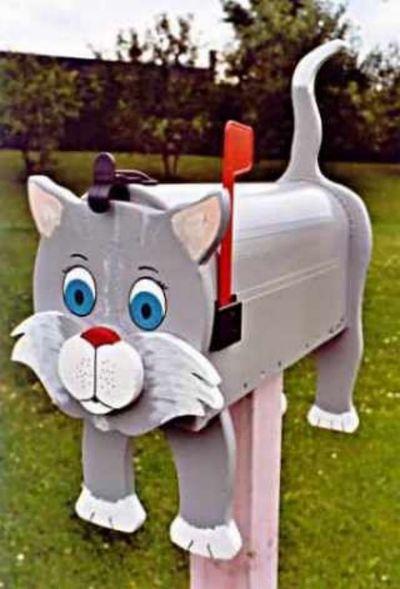 Decorative Cat mailboxes modern-