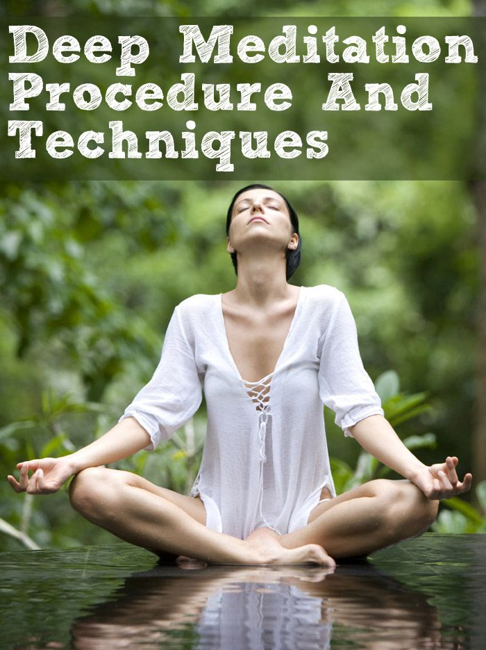 how to achieve deep meditation