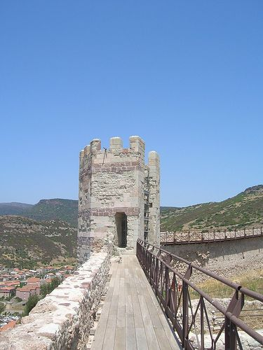 Torre del Castello Malaspina. Sardegna - Italy