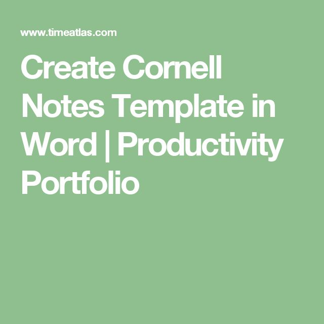 The  Best Cornell Notes Pdf Ideas On   Cornell Image