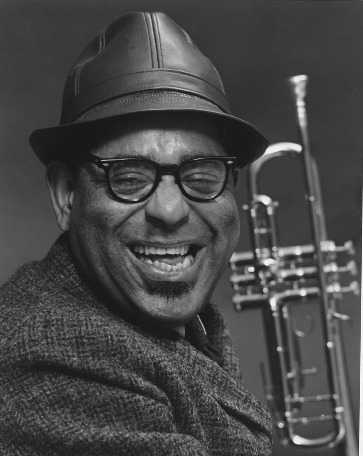 "John Birks ""Dizzy"" Gillespie: October 21, 1917 – January 6, 1993 ... was an American jazz trumpeter, bandleader, composer and occasional singer."