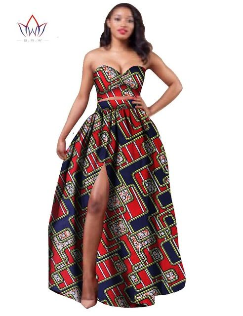 African Two Piece Outfit Crop Pictures ...  64eecd06ae5b