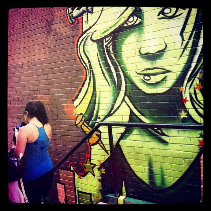 Calgary street art. Kensington.