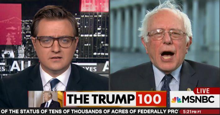 Sen. Bernie Sanders of Vermont did not mince words when describing the all-hands Senate meeting...